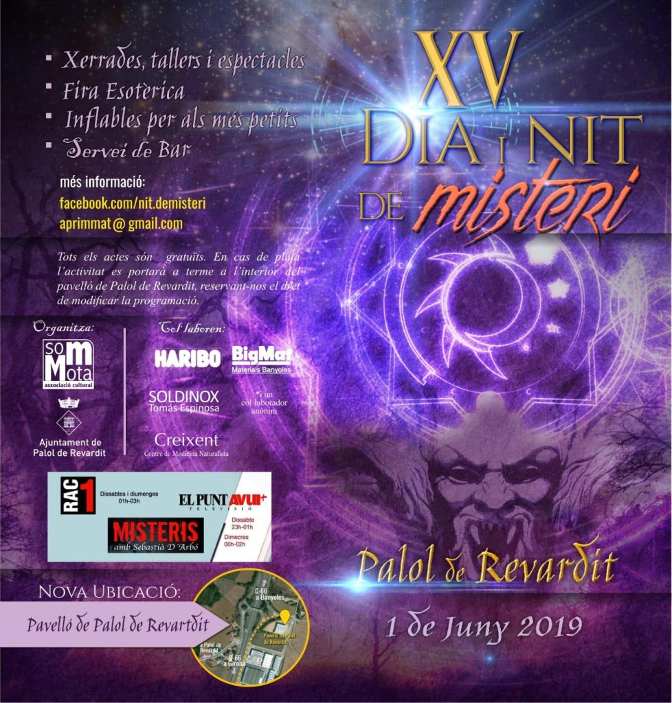 XV dia i nit de misteri a Palol de Revardit