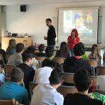 Charla sobre gratitud con alumnos de 2º y 3º ESO Kimicor