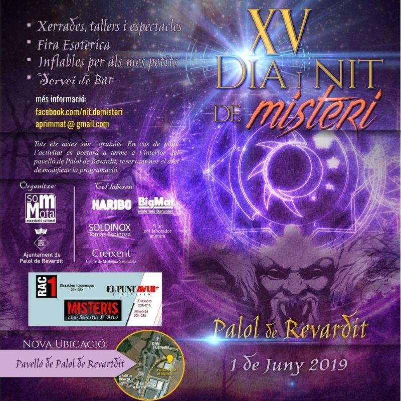 XV dia i nit de misteri Palol de Revardit Kimicor