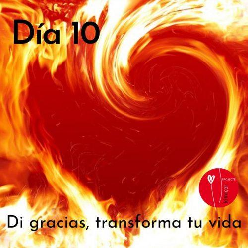 Di gracias, transforma tu vida día 10