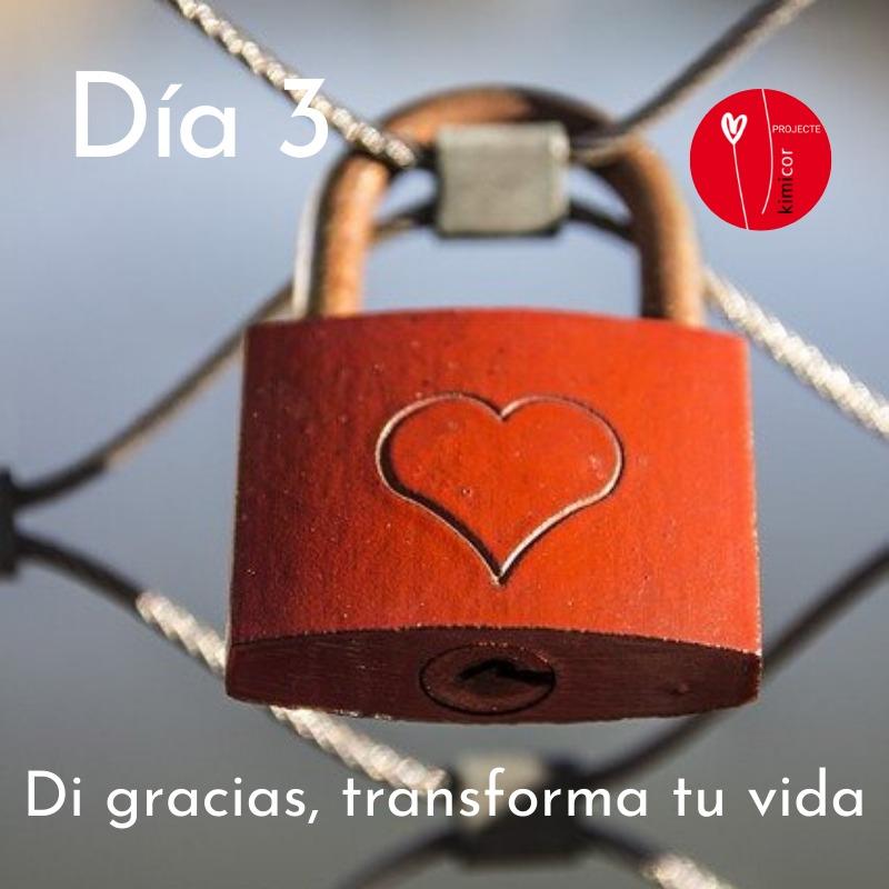 Di gracias, transforma tu vida día 3