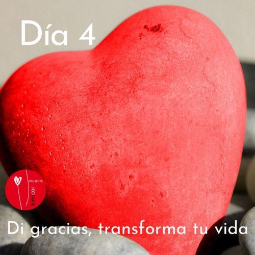 Di gracias, transforma tu vida día 4