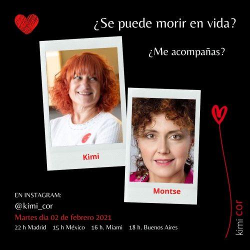 Se puede morir en vida Kimi y Montse