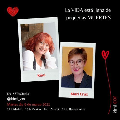 Kimi y Mari Cruz. La vida está llena de pequeñas muertes